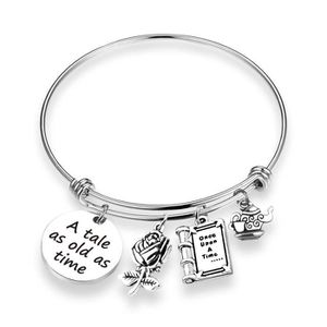 MONTRE Women's Inspired Bracelet A Tale As Old As Time Be