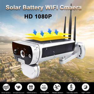 CAMÉRA IP Extérieur solaire IP caméra HD sans fil Wifi Surve