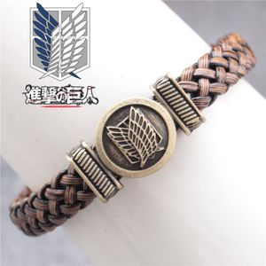 BRACELET - GOURMETTE Attaque Anime Hot Sur Titan Wings Of Freedom Punk