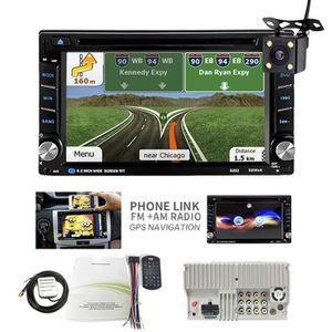 Double USB Holden Lecteur MP5 multim/édia de Voiture de 7 Pouces Lien Miroir WiFi Android 9.1 Autoradio 2 Din Navigation GPS pour Chevrolet Radio FM avec Bluetooth Daewoo Cam/éra de recul