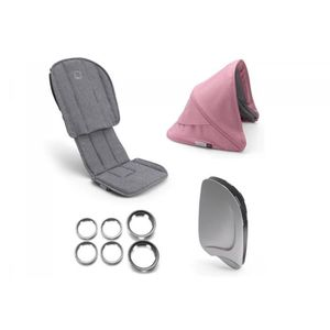 ASSISE POUSSETTE Bugaboo - bugaboo ant style set complète GRIS CHIN
