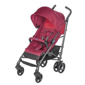 POUSSETTE  CHICCO Poussette canne Liteway 3 red berry