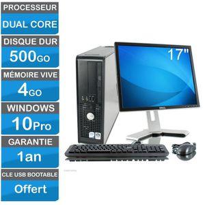 ORDI BUREAU RECONDITIONNÉ Ordinateur de Bureau avec écran Dell Optiplex Dual