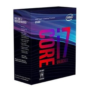 PROCESSEUR INTEL Processeur Core i7-8700 Coffee Lake - 3.20GH
