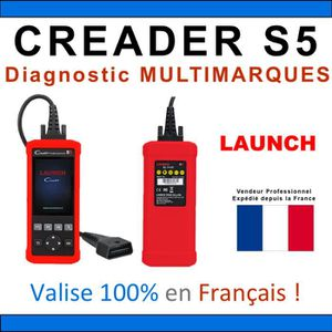 OUTIL DE DIAGNOSTIC Valise diagnostique Auto Pro Multimarque Obd2 Diag