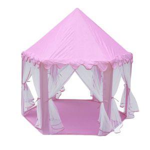 TENTE TUNNEL D'ACTIVITÉ 1.4m Rose Tente de jeu pour enfants Château de Pri