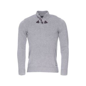 Pull Homme Teddy Smith Parbour Gris chiné