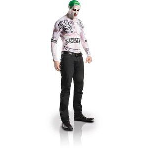 DÉGUISEMENT - PANOPLIE Déguisement et maquillage Joker Suicide Squad adul