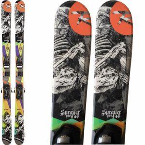 SKI Ski occasion Enfant ROSSIGNOL Sprayer pro + Fixati