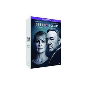 DVD SÉRIE House of Cards - L'Intégrale saisons 1 à 5 [DVD +