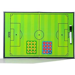 TABLEAU DE COACHING Soccer Football Tableau Tactique de Coach Magnétiq