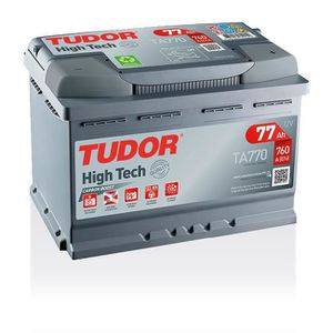 BATTERIE VÉHICULE Batterie HIGH TECH TUDOR TA770 12V 77Ah 760A 278 x