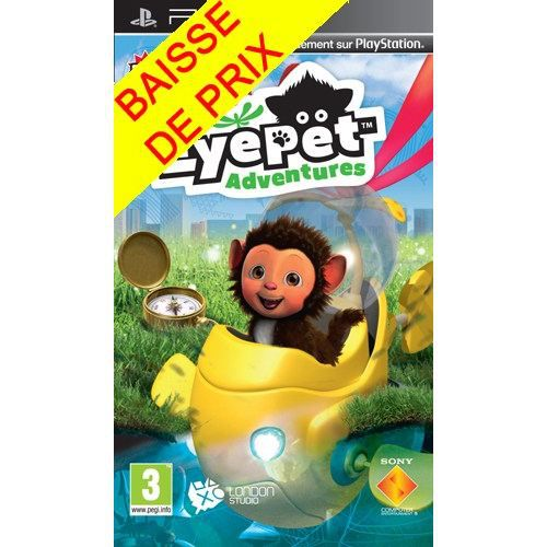 JEU PSP EYEPET ADVENTURES / Jeu console PSP