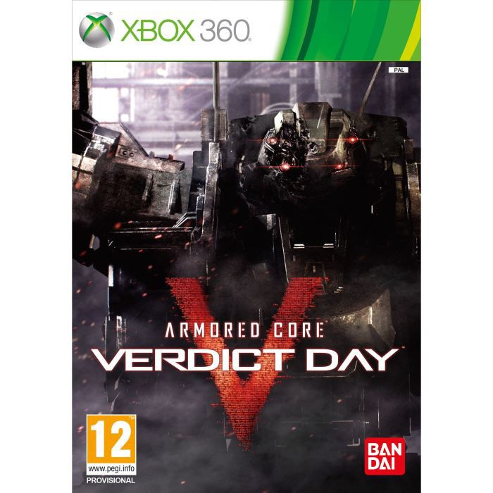 JEUX XBOX 360 ARMORED CORE VERDICT DAY / jeu console X360