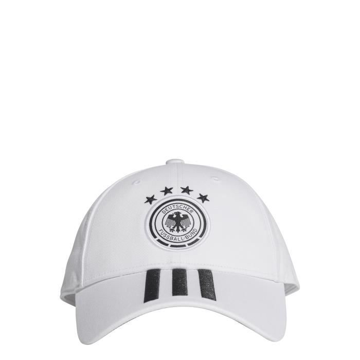 Casquette Allemagne 3-Stripes 2018-2019 - blanc-noir - L