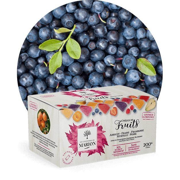 Ballotin pâtes de fruits de Provence 200g