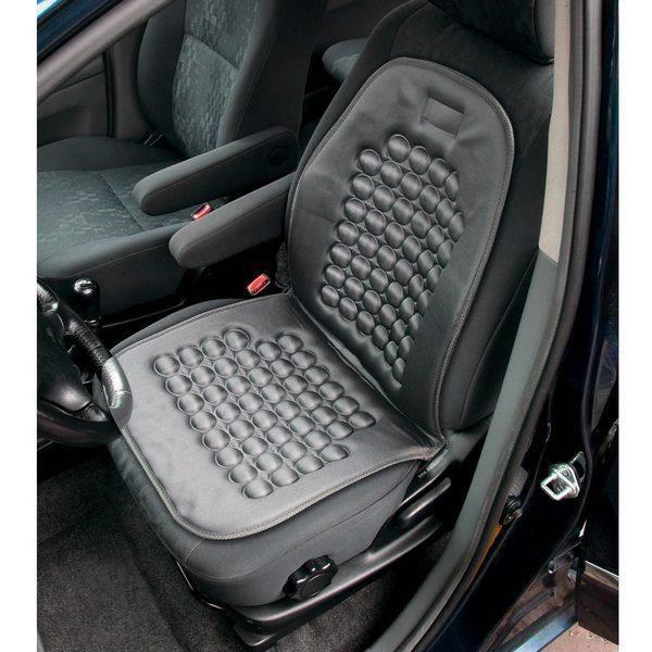 Couvre siège magnétique à billes pour voiture.