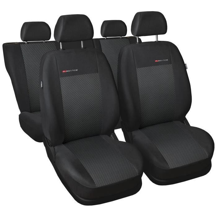 Housse De Siège Voiture Auto convient pour Chevrolet Trax gris Elegance P3