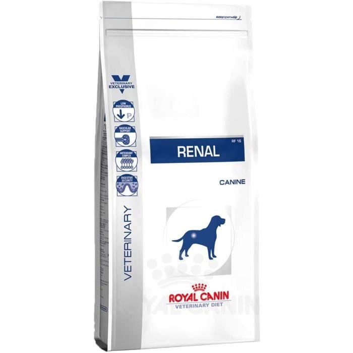 Royal Canin Renal RF 14 Nourriture pour Chien 2 kg 691525
