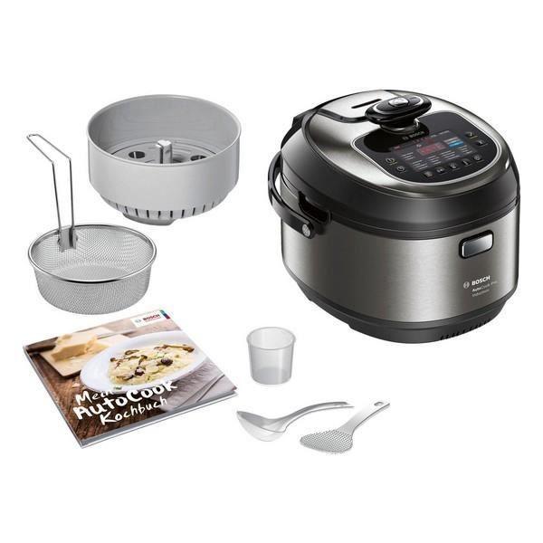 Robot culinaire Autocook BOSCH MUC88B68ES 1200W Noir Acier inoxydable (Es)