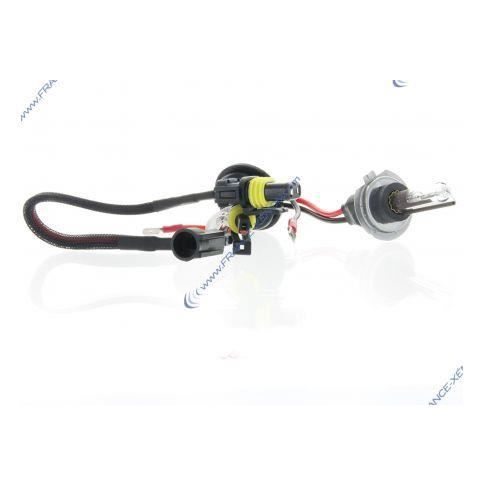 2 x H7R 6000K 35W métallique courte réflecteur