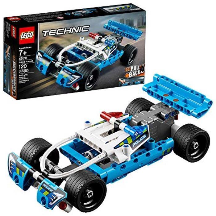 Jeu D'Assemblage LEGO JQ1PY Technic Police Pursuit 42091 Kit de construction 2019 (120 Pieces