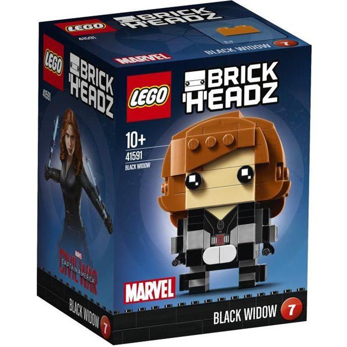 LEGO® Civil War BrickHeadz 41591 Black Widow
