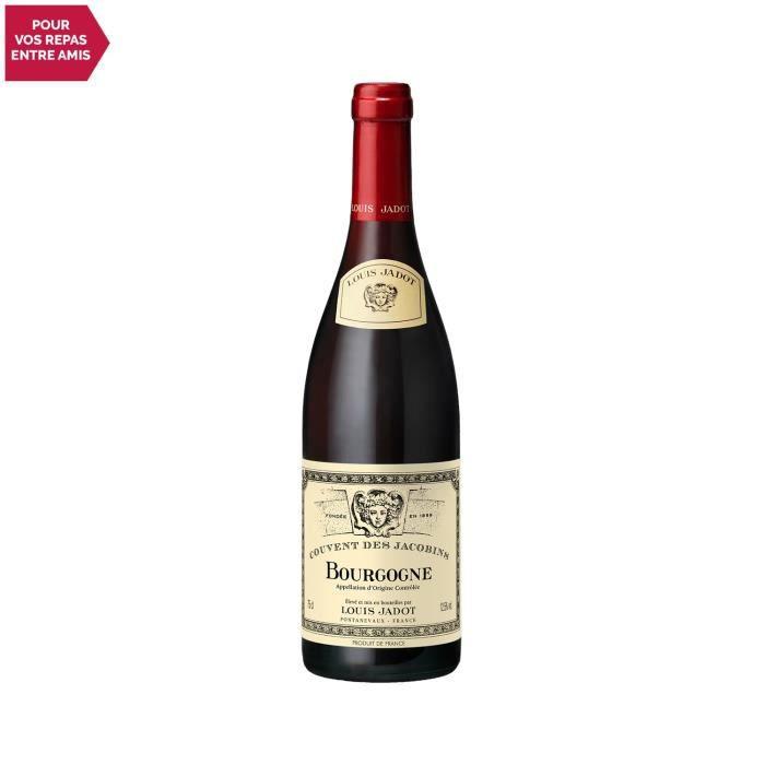 Bourgogne Couvent des Jacobins Rouge 2019 - 75cl - Louis Jadot - Vin AOC Rouge de Bourgogne - Cépage Pinot Noir