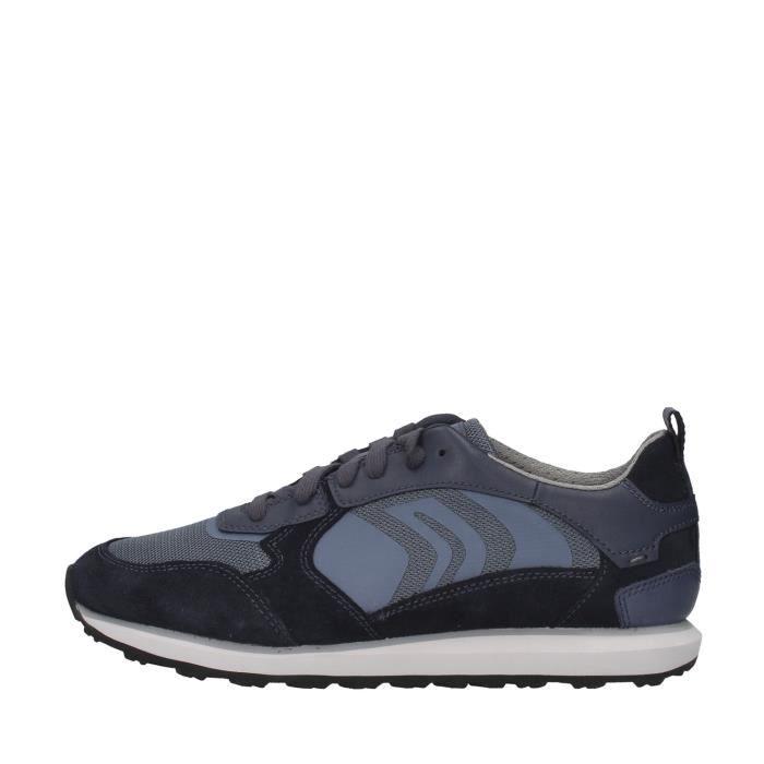 Geox U029WD02214 chaussures de tennis faible homme BLEU MARIN