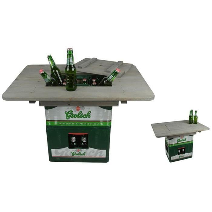 Plateau de table pour caisse de bière NG76 Esschert Design
