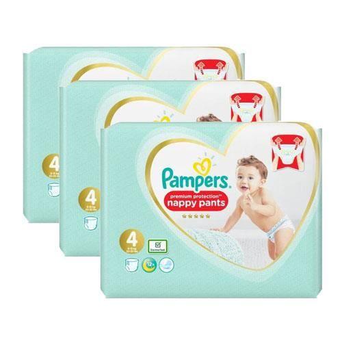 Pampers - 684 couches bébé Taille 4 premium protection pants