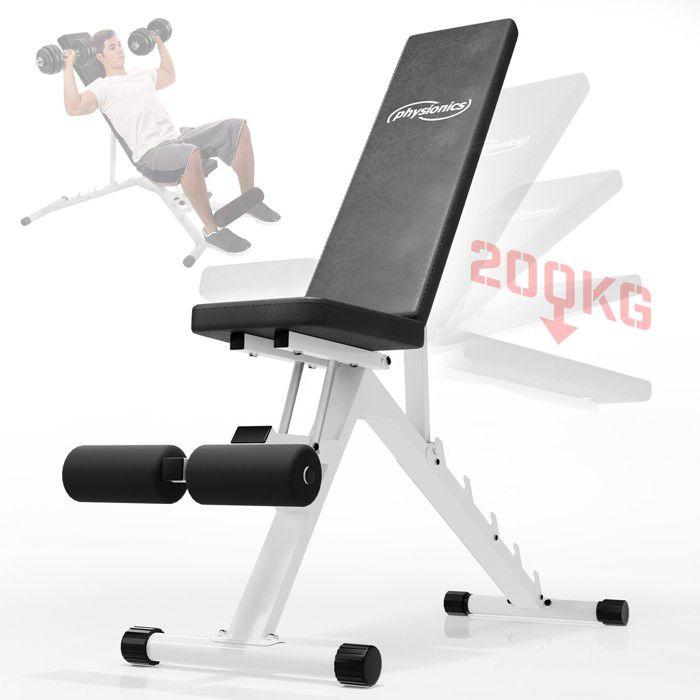 Banc de musculation pour l'entraînement des muscles abdominaux (HNTL