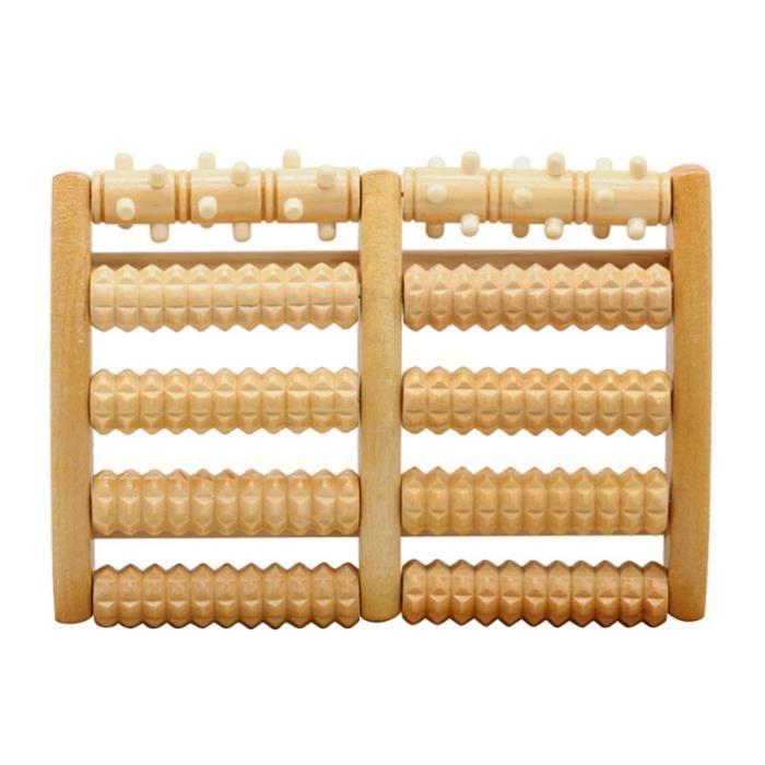 1 pc pratique en bois soins de santé outil de Massage acupoint de pied rouleau de pour hommes ROULEAU DE MASSAGE