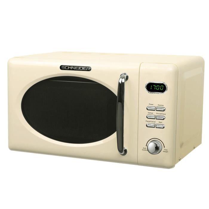 Crème micro-ondes rétro Schneider MW 720 SC