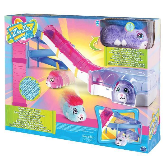 Splash Toys - 32303 - Maison de Peluche Zhu Zhu Pets House Playset - Maison pour Hamster