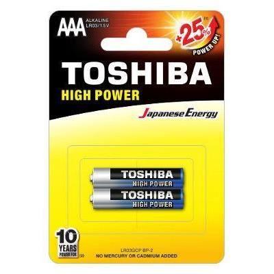 2 Piles Toshiba High Power AAA LR03