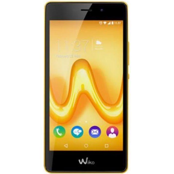 Wiko TOMMY Smartphone 4G LTE 8 Go microSDXC slot GSM 5- 1 280 x 720 pixels (294 ppi) IPS RAM 1 Go 8 MP (caméra avant de 5…