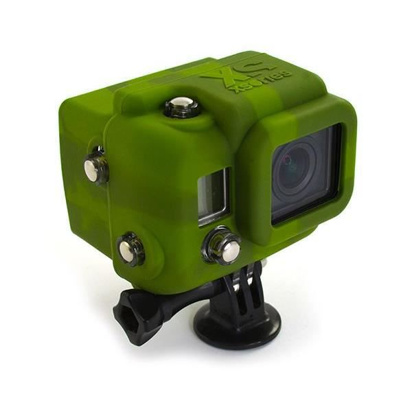 XSORIES HSC2 Housse en silicone avec Capuche pour GoPro HD Hero3 - Camouflage