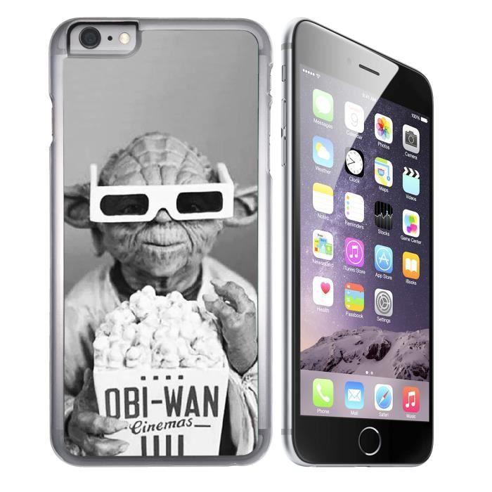 coque iphone 7 plus star wars yoda cinema 3d