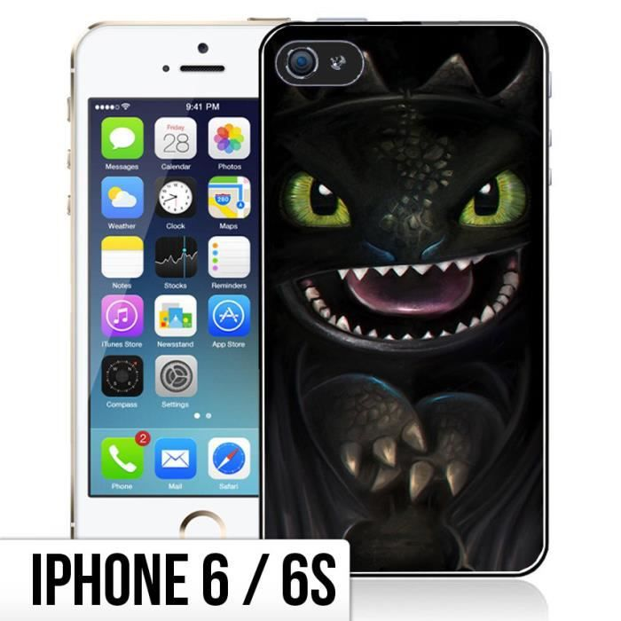 Coque iPhone 6-6S Dragons - Krokmou