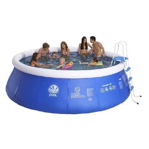 Piscine autoportante prompt set 450 x 106 cm achat for Achat piscine autoportante