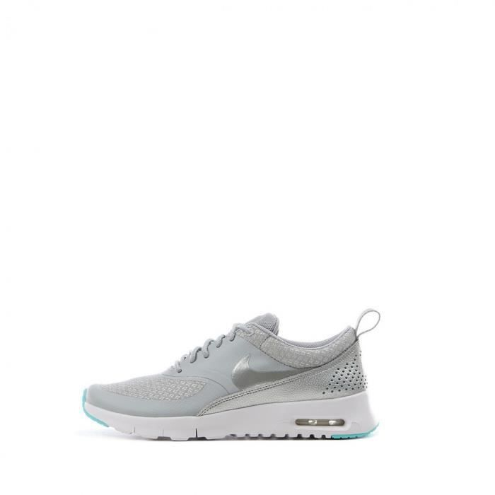 Baskets Junior Nike Air max Thea (GS) - Ref. 814444-010 Gris Gris ... 96dbc439cec9