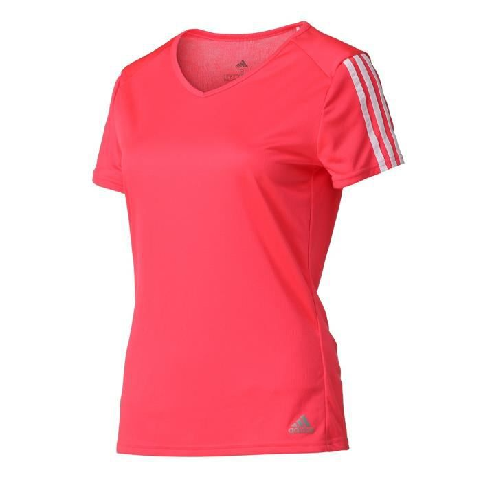 t shirt adidas femme rose