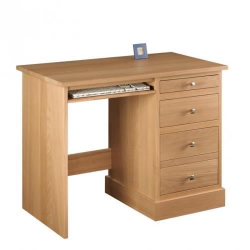 petit bureau contemporain en ch ne achat vente bureau petit bureau contemporain e cdiscount. Black Bedroom Furniture Sets. Home Design Ideas