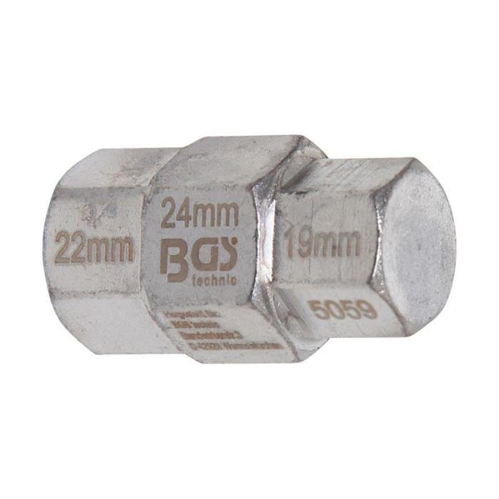 """Acier 4.5 mm Hex Socket 1//4 /""""pouces Drive Boulon Serrage Allan écrou chrome peu"""