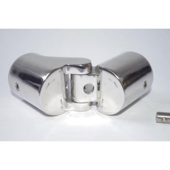 Collier Articul/é /Ø 30mm Bimini /à Goupille 90/° inox 316 A4 Articulation externe