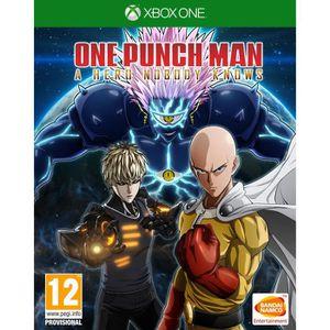 JEU XBOX ONE NOUVEAUTÉ One Punch Man : A Hero Nobody Knows Jeu Xbox One