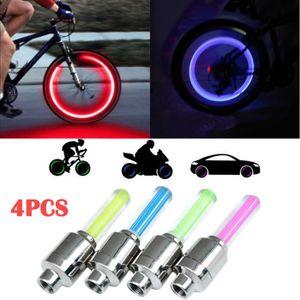ECLAIRAGE POUR VÉLO ECLAIRAGE POUR CYCLE Premun LED pour roues Casquet
