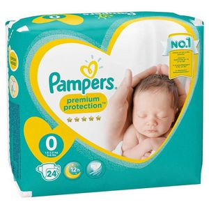 COUCHE Pampers - New Baby - Couches Taille 0 (1.5 - 2.5 k