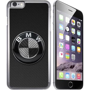 coque iphone 8 bmw logo carbone